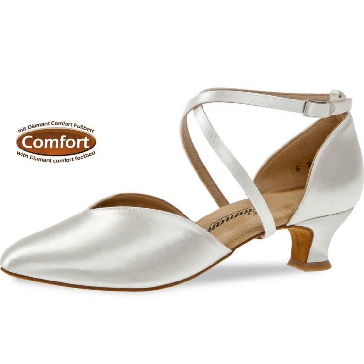 huge discount 0f0de 1bb4d Diamant 107-013-092 weiß Komfort 4,2 cm - Passion-Dance Tanzschuhe