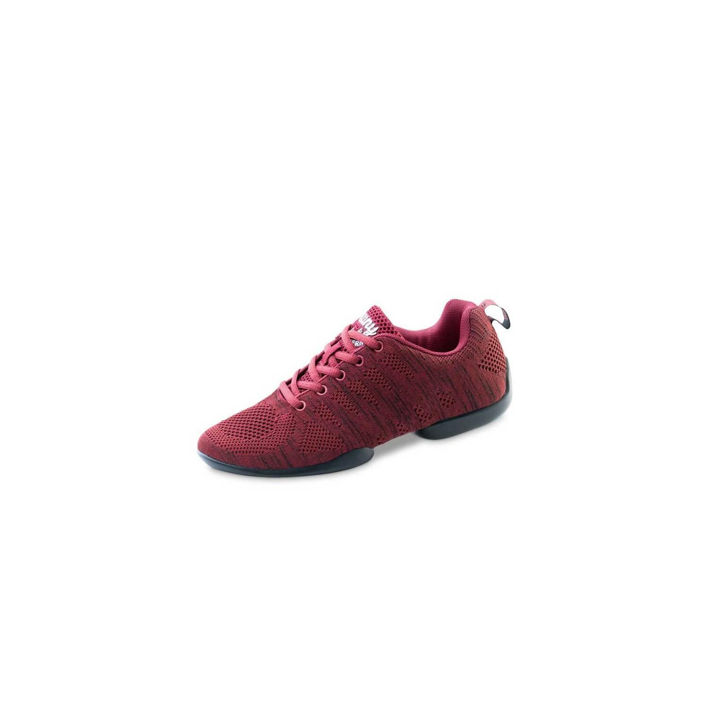 Anna Kern Damen Dance Sneakers//Tanzschuhe 135 Bold Sneaker Sohle Rot//Schwarz