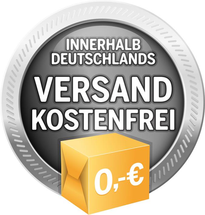 Kostenloser Versand innerhalb Deutschland